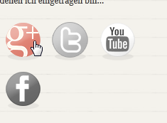 Die neuen Icons an der rechten Seite