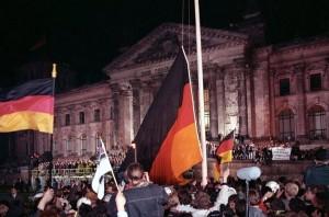 Vereinigung Deutschlands vor dem Reichstag
