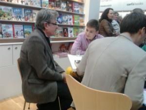 Jürgen Seidel und ich auf der Leipziger Buchmesse
